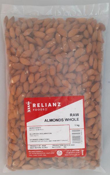 Almonds - Bulk 1kg