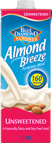 Vegan - Almond Breeze - Unsweetened - 1 Litre
