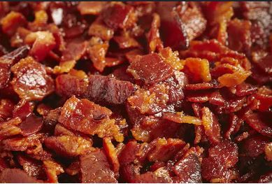 Diced Bacon 80/20 - Catering pack 1kg FROZEN
