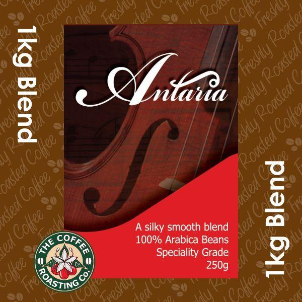 Antaria Blend - 100% Arabica Coffee Blend - 1kg