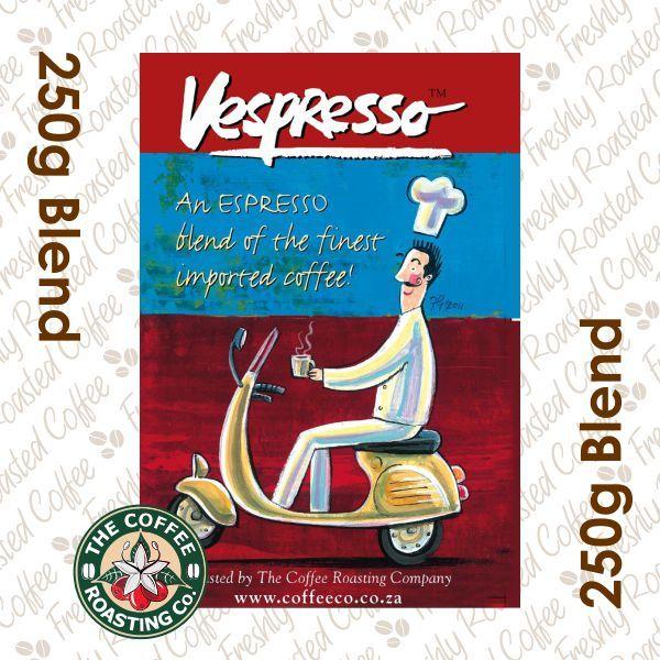 VESPRESSO -100% Arabica Coffee Blend