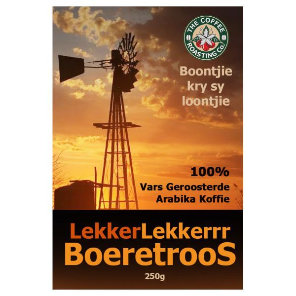 Boeretroos Blend - 100% Arabica Coffee Blend - 250g