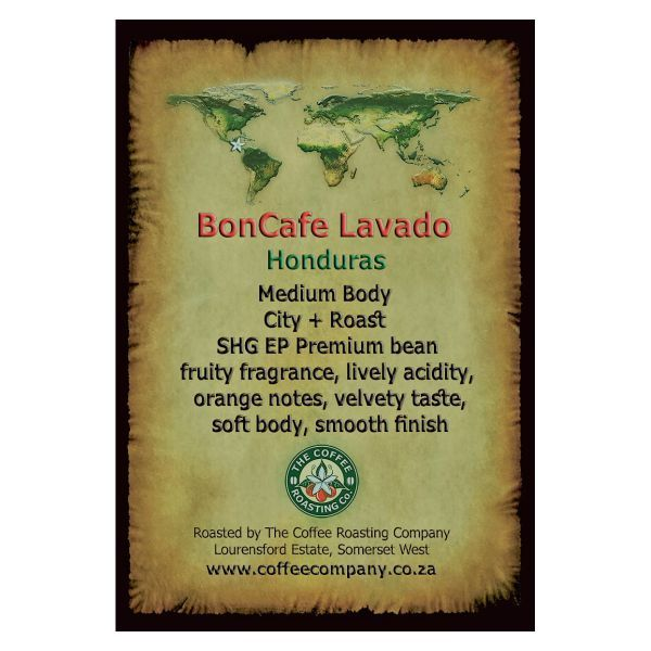 Honduras - Bon Cafe Lavado - Single Origin Green Beans