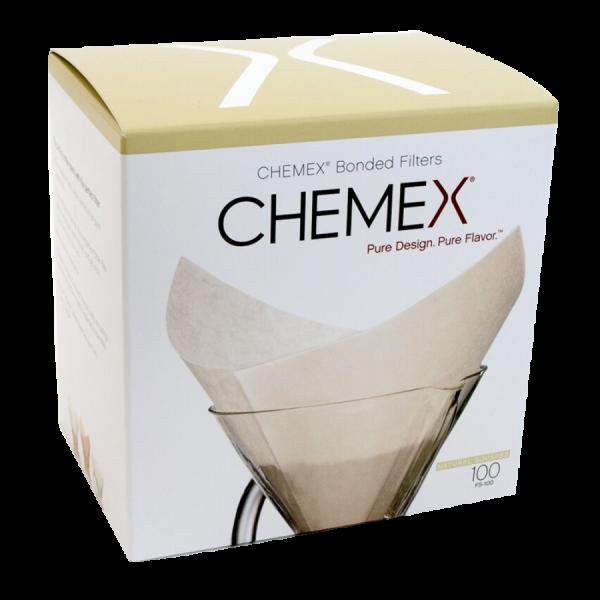 Chemex Bonded Paper Filters 100 Squares