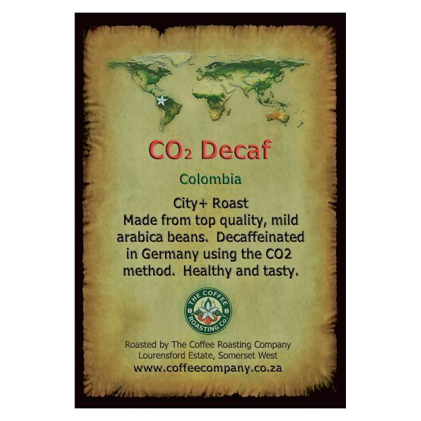 Colombia - CO2 Decaf - Single Origin Green Beans