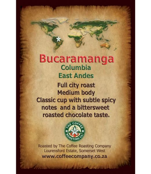 Colombia - Bucaramanga - Single Origin Coffee