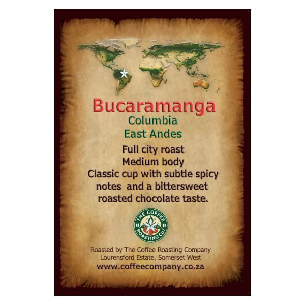 Colombia - Bucaramanga - BULK