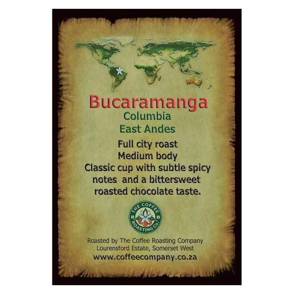 Colombia - Bucaramanga - Single Origin Green Beans - 1kg