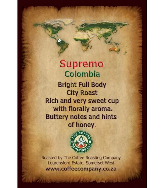 Colombia Supremo - Single Origin Coffee