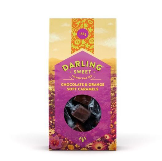 Darling Chocolate & Oranges Soft Caramels 150g