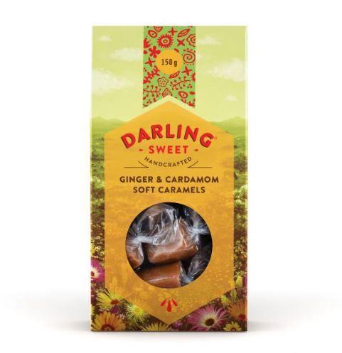 Darling Ginger & Cardamom Soft Caramels 150g