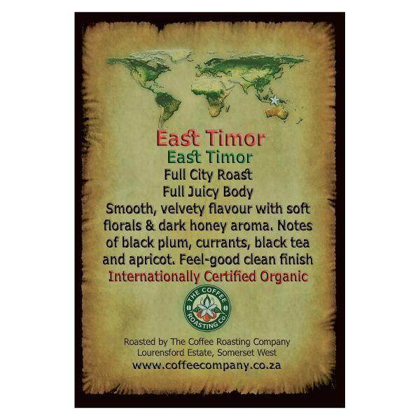 East Timor  - Single Origin Green Beans