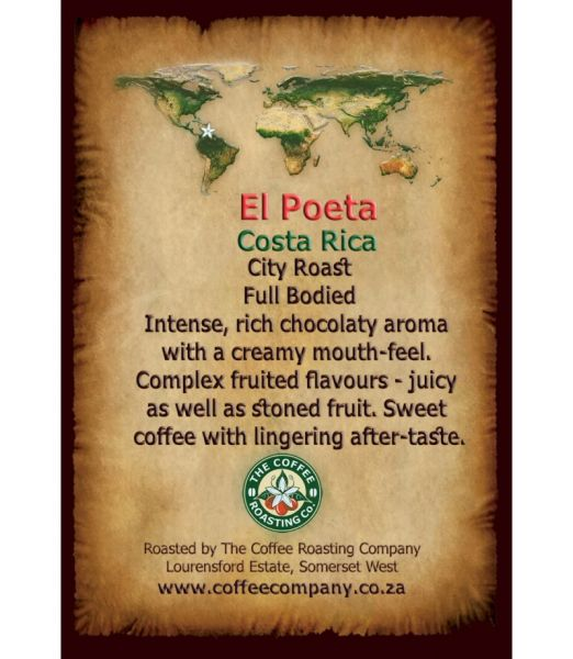 Costa Rica - El Poeta - Single Origin Coffee