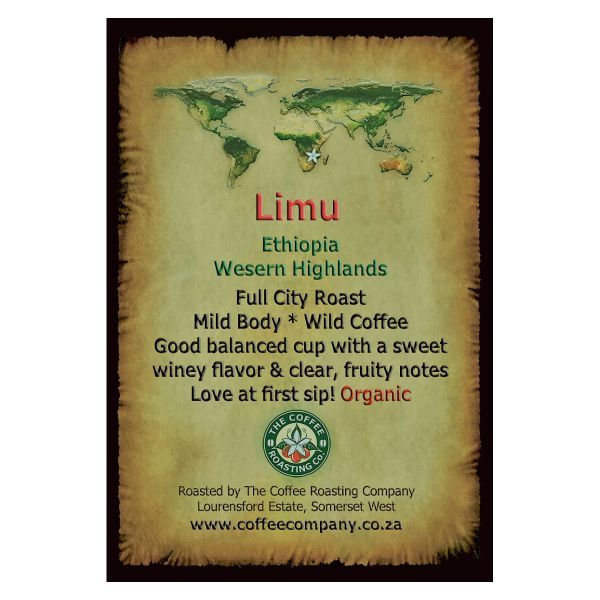 Ethiopia - Limu - Single Origin Green Beans - 1kg