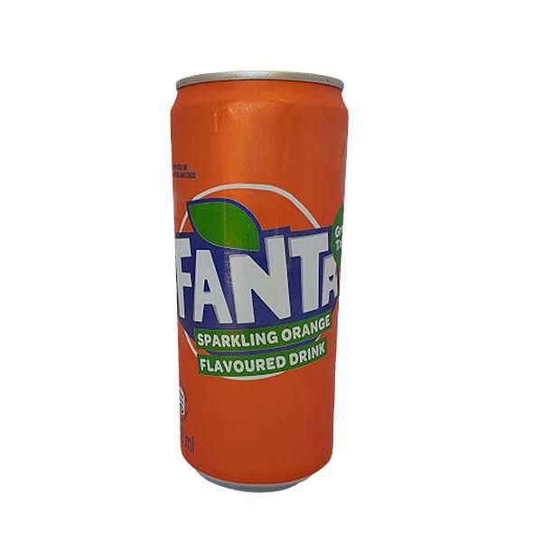 Fanta - Orange 300ml can