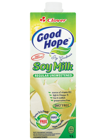 Vegan - Soy Milk Clover Good Hope 1L