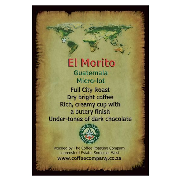 Guatemala - Finca El Morito - Single Origin Green Beans - 1kg
