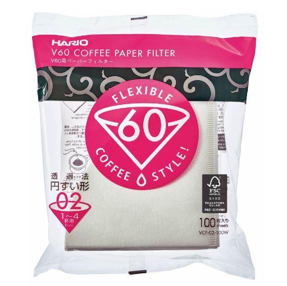Hario V60 Coffee Paper Filter 02