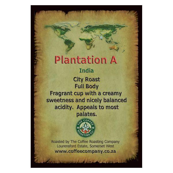 India - Plantation A - Single Origin Green Beans - 1kg