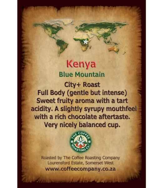 Kenya - Blue Mountain - Single Origin Coffee - 250g