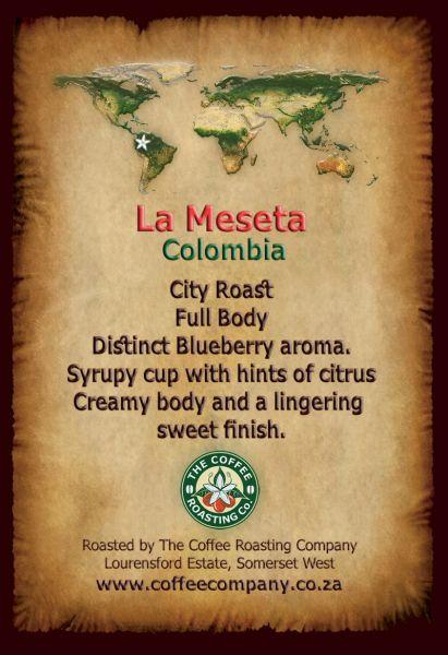 Colombia - La Maseta - Single Origin Coffee - 250g