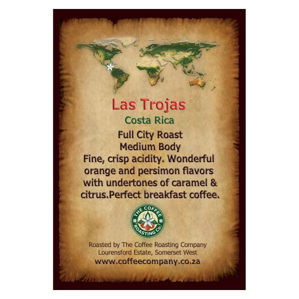 Costa Rica - Las Trojas - Single Origin Coffee Bean - 1kg