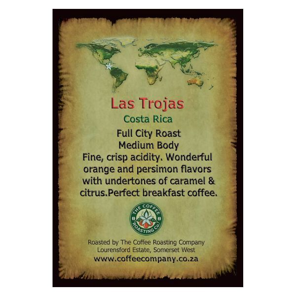 Costa Rica - Las Trojas - Single Origin Green Beans - 1kg