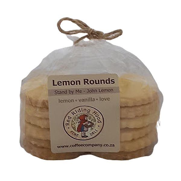 Lemon Rounds Biscuits