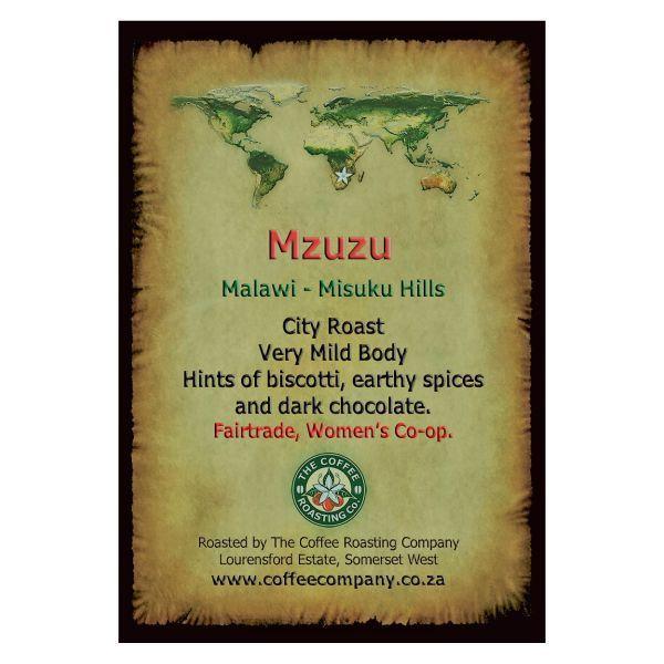 Malawi - Mzusu - Single Origin Green Beans