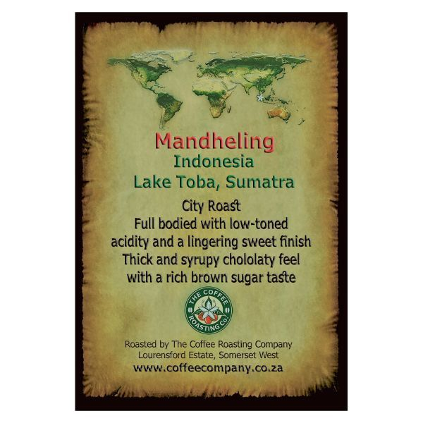 Indonesia - Mandheling - Single Origin Green Beans
