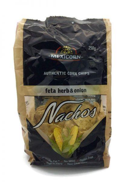 Nachos - Feta Herb & Onion - 100g Snack Pack
