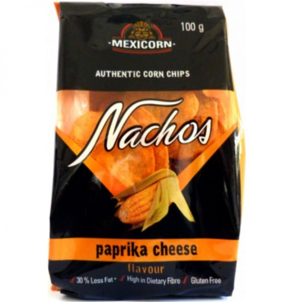 Nachos - Paprika Cheese - 100g Snack Pack