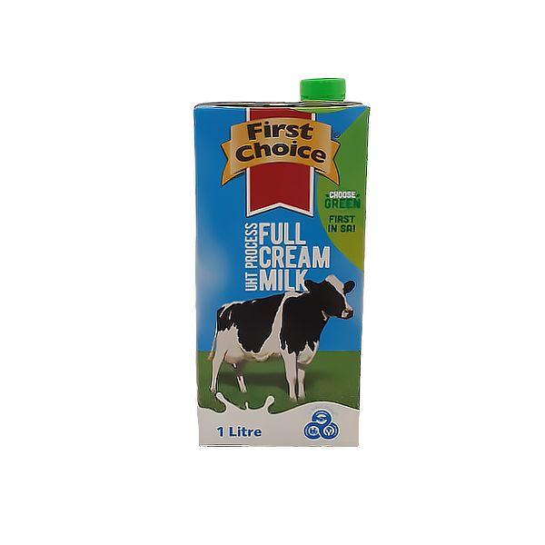Dairy - 1L Long Life Milk - Full Cream