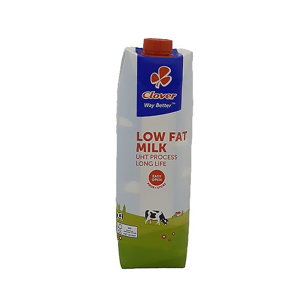 Dairy - 1L Long Life Milk - Low Fat