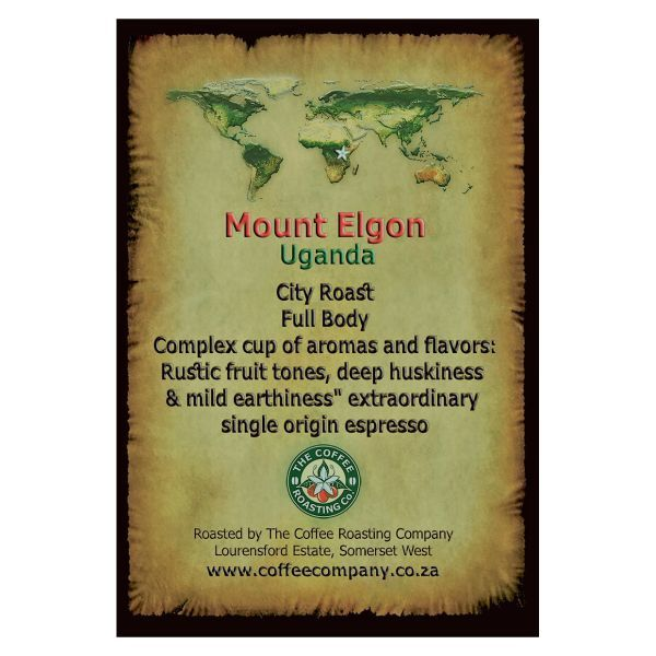 Uganda - Mount Elgon - Single Origin Green Beans