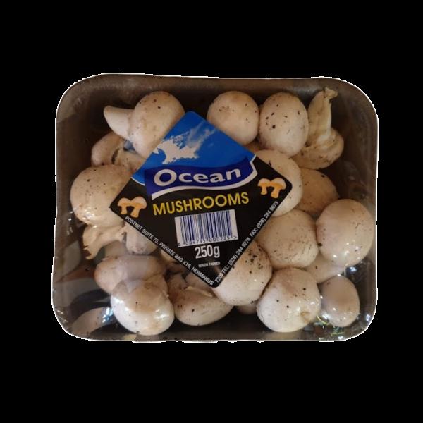 Mushrooms - White button 250g