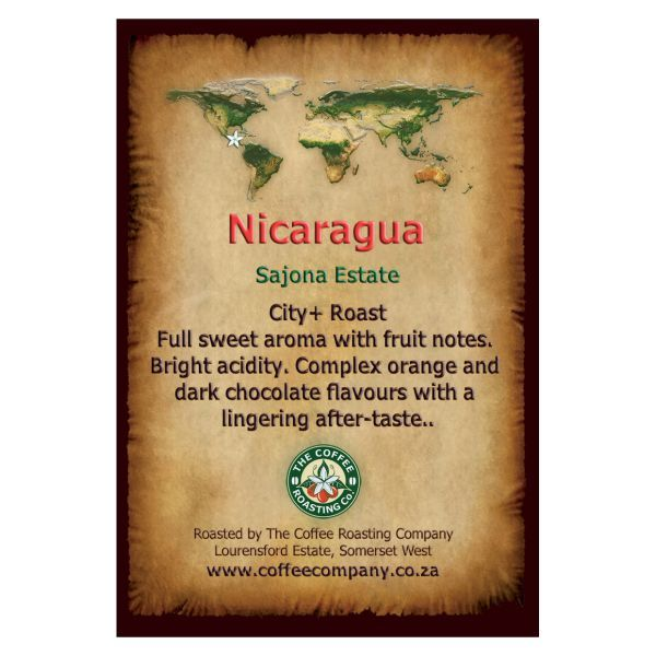 Nicaragua - Sajona Estate - Single Origin Coffee