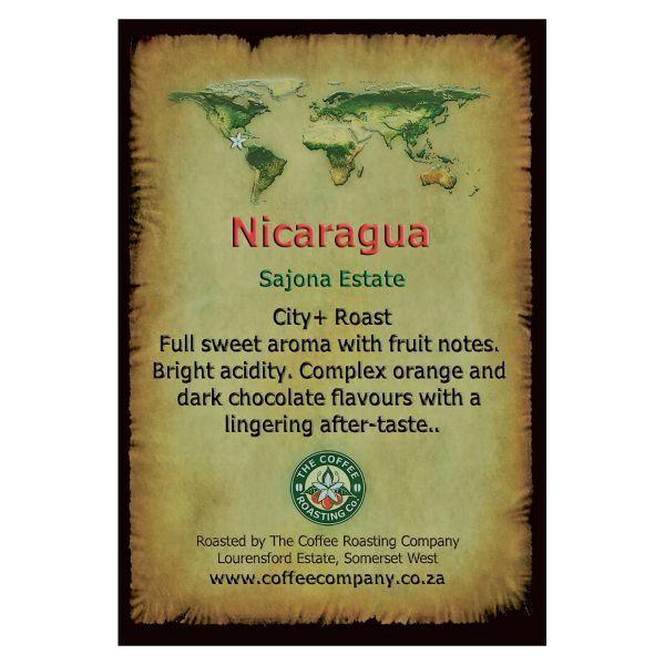 Nicaragua - Sajona Estate - Single Origin Green Beans