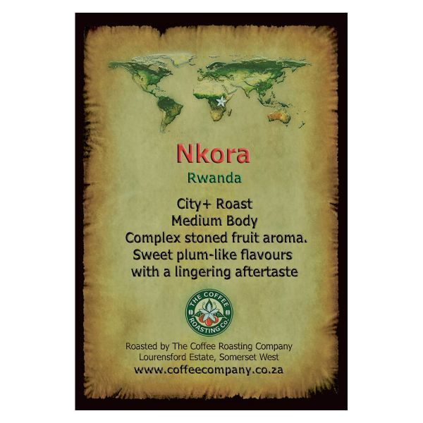 Rwanda - Nkora - Micro Lot - Single Origin Green Beans