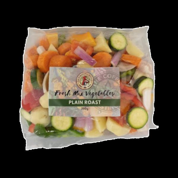 Fresh pre-cut Plain Roast Mix - 750g pouch