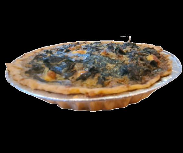 Quiche Spinach and Feta