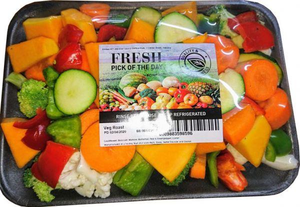 Fresh pre-cut Vegetable Roast - 750 pouch