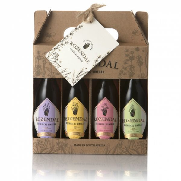 Rozendal Vinegar Gift Pack - 4 bottle