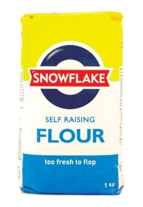Snowflake Self Raising Wheat Flour - 1kg