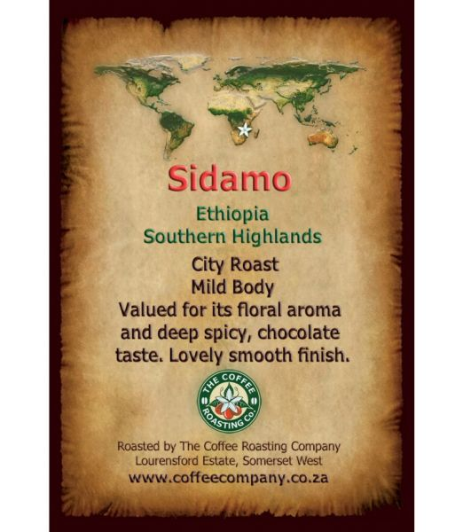 ETHIOPIA - SIDAMO - Single Origin Coffee
