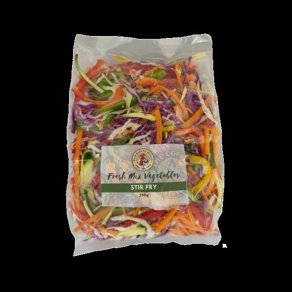 Fresh pre-cut Stir Fry Mix - 750g pouch