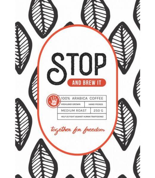 STOP & Brew it! – A unique 100% Arabica bean blend