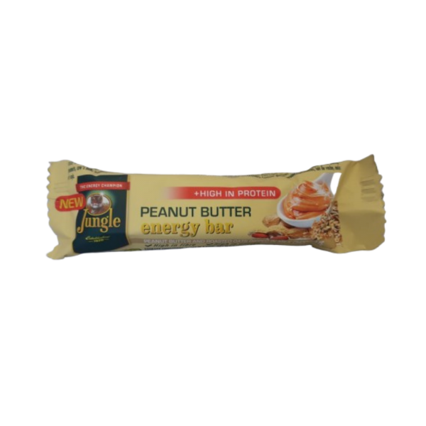 SWEETS - Jungle Energy Bar - Peanut Butter - 40g