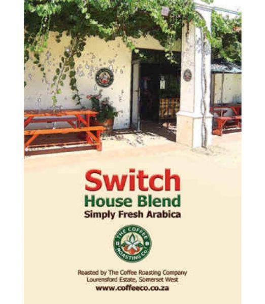 SWITCH HOUSE BLEND - 100% Arabica Coffee Blend