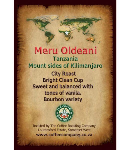 Tanzania - Meru Oldeani Single Origin Coffee